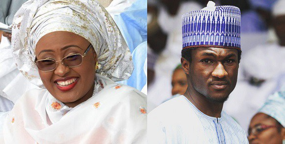 My son is stable in the hospital – Aisha Buhari