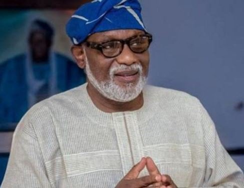 New Year: Akeredolu urges Nigerians to live in unity