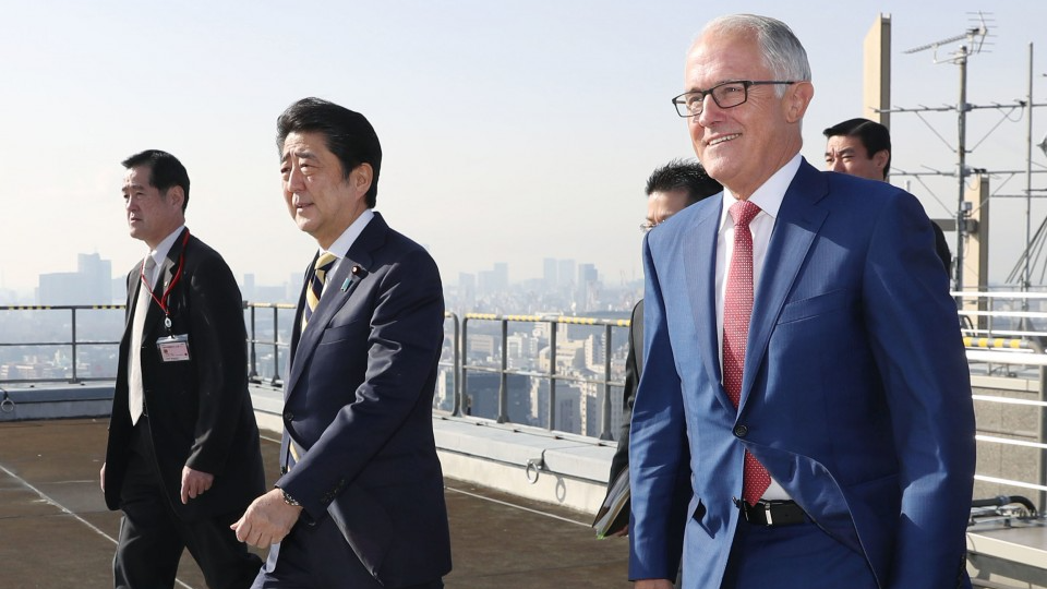 Australian PM on one-day visit to Japan