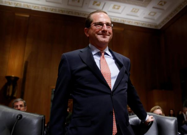 Senate votes to confirm Azar as health secretary
