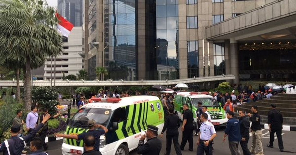 77 injured after floor of Indonesia Stock Exchange collapses