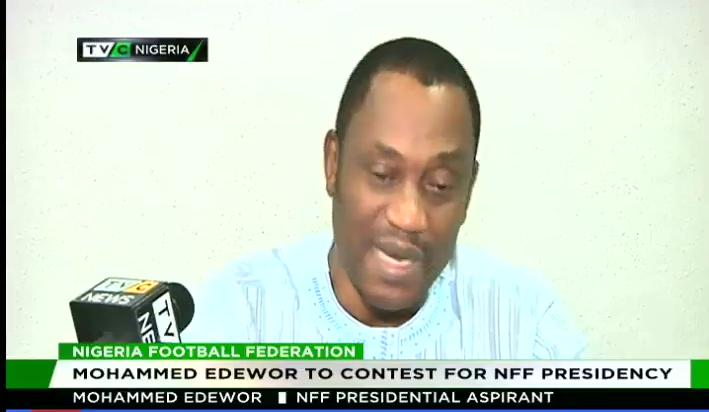 Mohammed Edewor to contest for NFF presidency