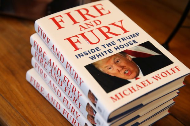 Controversial Trump Book hits shelves in U.S.