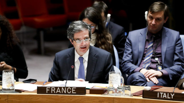 Iran unrest does not constitute threat to Int'l Peace – French envoy