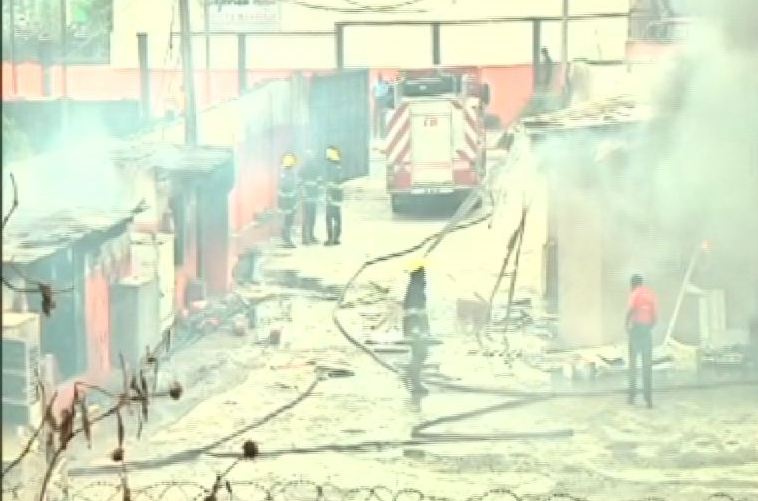 Two killed as fire engulfs Gas Station in Lagos