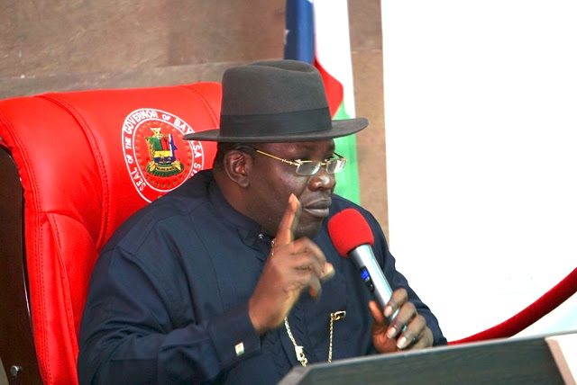 Paris Club refund: Bayelsa to pay one and half salary arrears