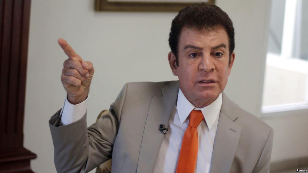 Honduras opposition calls for 'uprising' against Hernandez