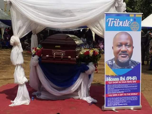 Taraba lawmaker Hosea Ibi buried amidst calls for end to open grazing