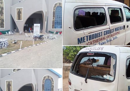 Hoodlums attack Churches, Islamic gathering in Ilorin