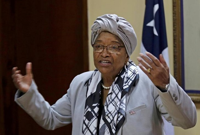 Liberia's president, Ellen Johnson Sirleaf expelled from her party