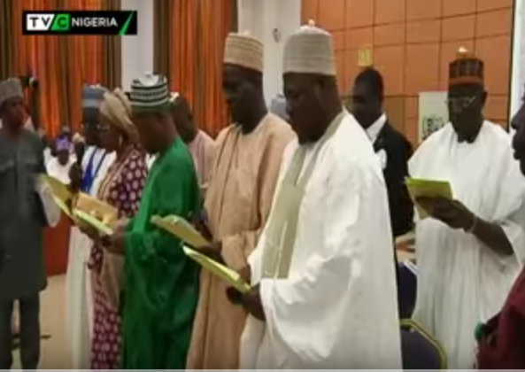 Kwara governor swears in 10 Permanent Secretaries