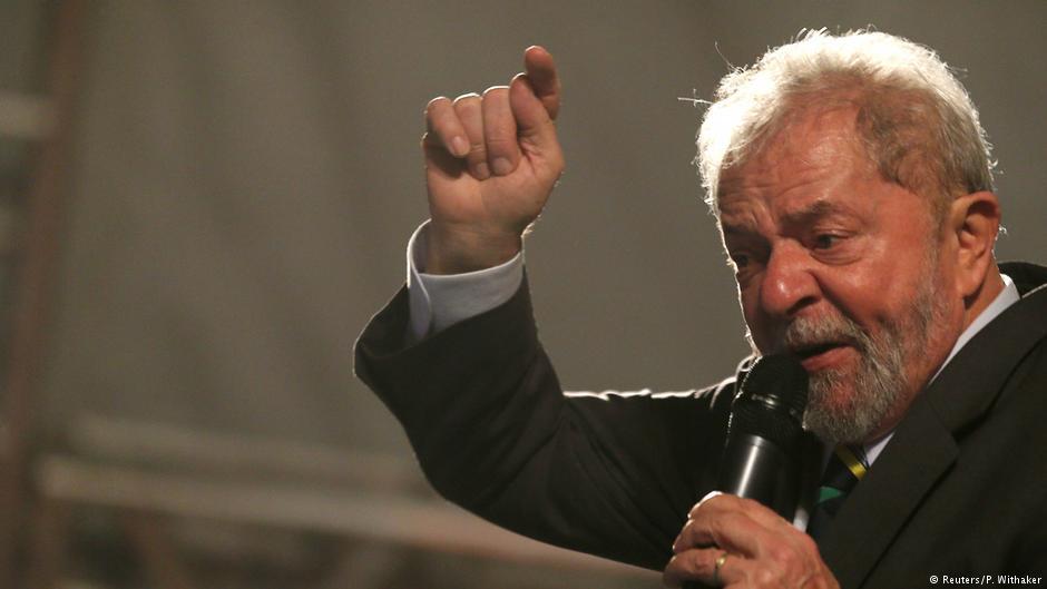Brazil's ex-president Lula starts campaign despite corruption trial
