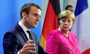 Merkel, Macron meet to discuss reforms for Euro Zone