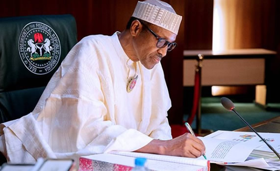Buhari delays assent to three bills