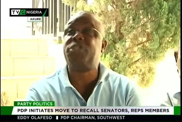 Ondo PDP initiates process to recall Senator, Reps member