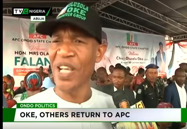 Olusola Oke, others return to APC