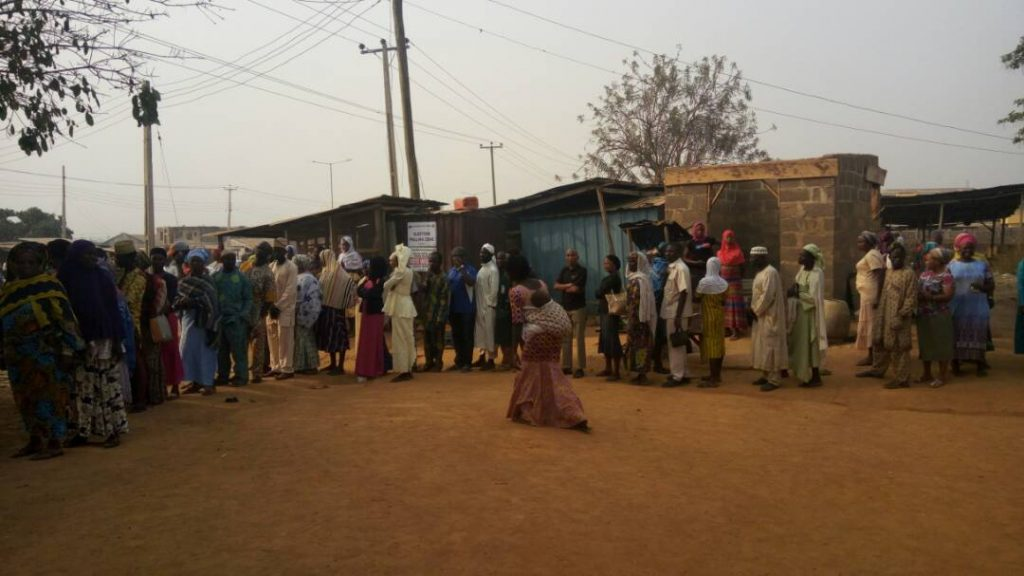 Osun Council Poll sees massive turnout of voters