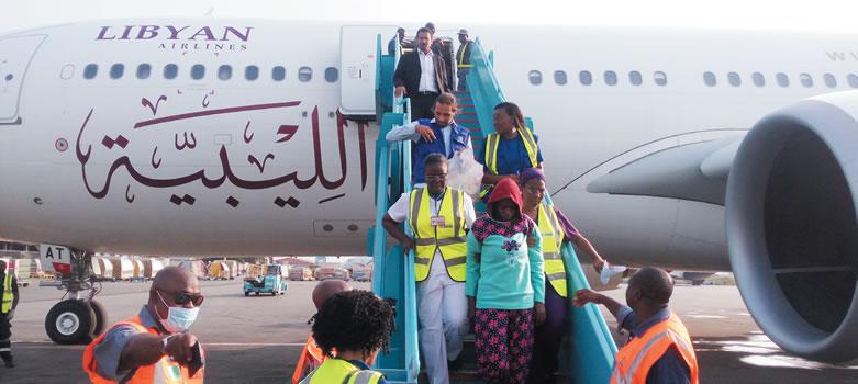 More Nigerians return from Libya