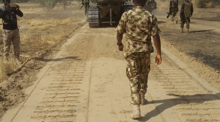 Army kicks off road construction in Sambisa forest