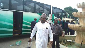 Super Eagles arrive in Morocco for 2018 CHAN