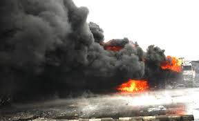 Oil tank explodes at Ijegun, Lagos