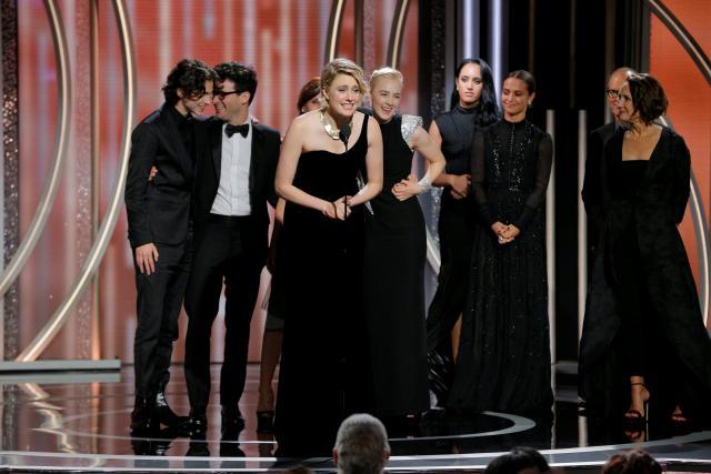 Three Billboards' wins big as Golden Globes power through sex scandal