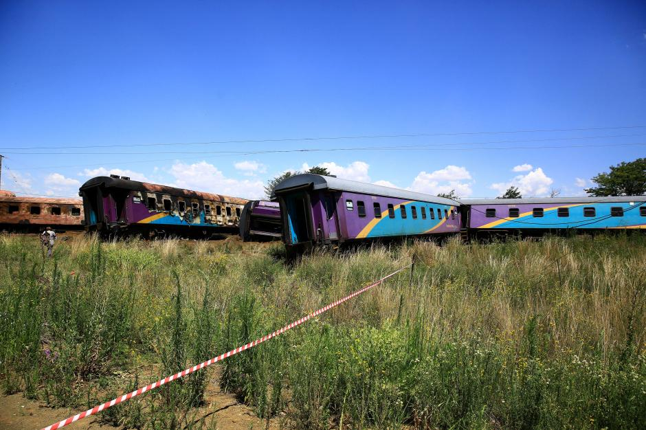 Dozen dead, scores injured in South Africa train crash