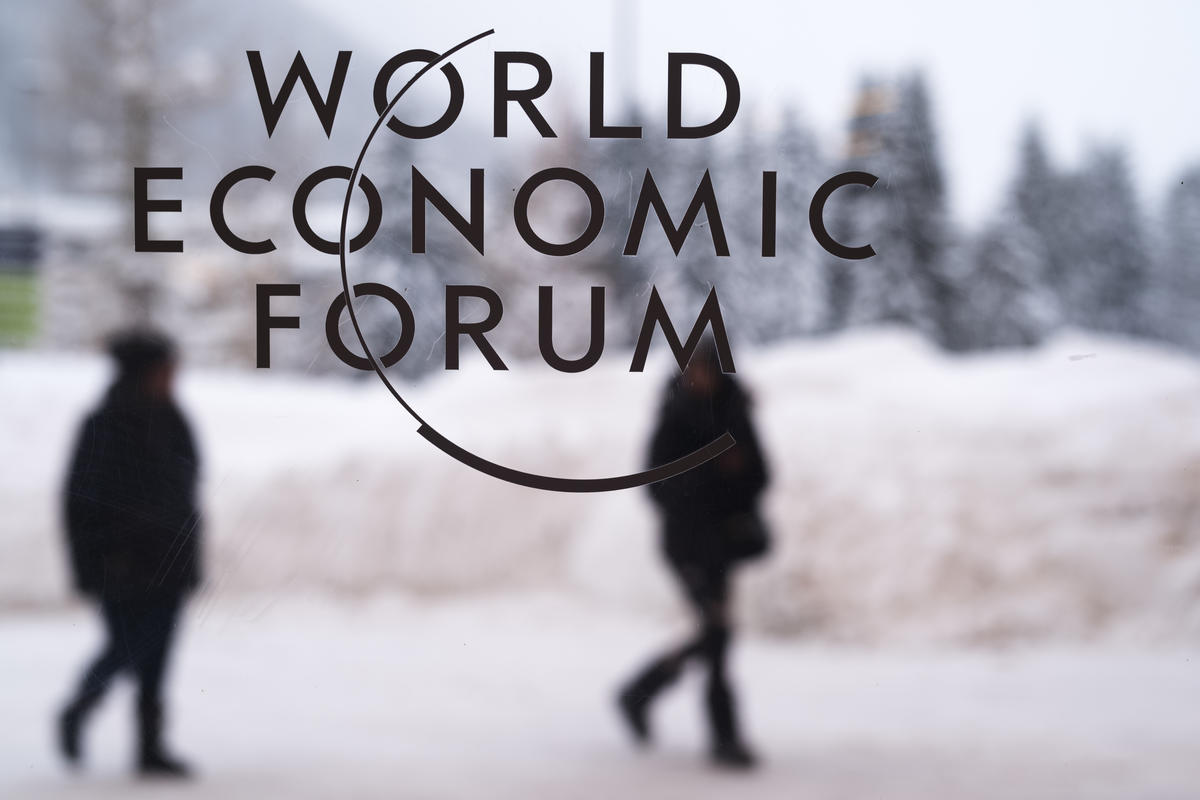48th annual WEF holds in Switzerland