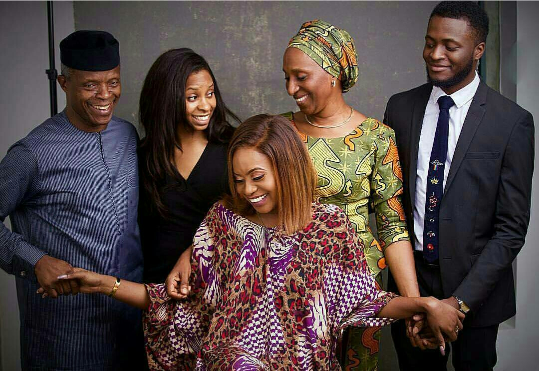 UAE: Vice President Osinbanjo spends new year abroad with family