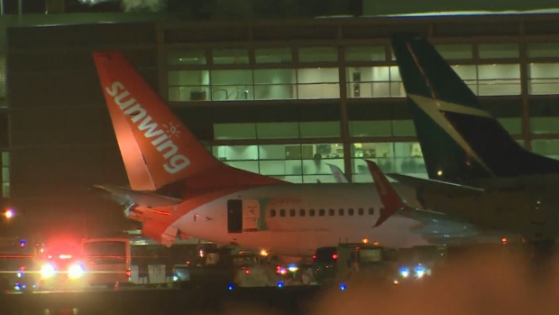 Two planes collide on tarmac at Pearson Airport