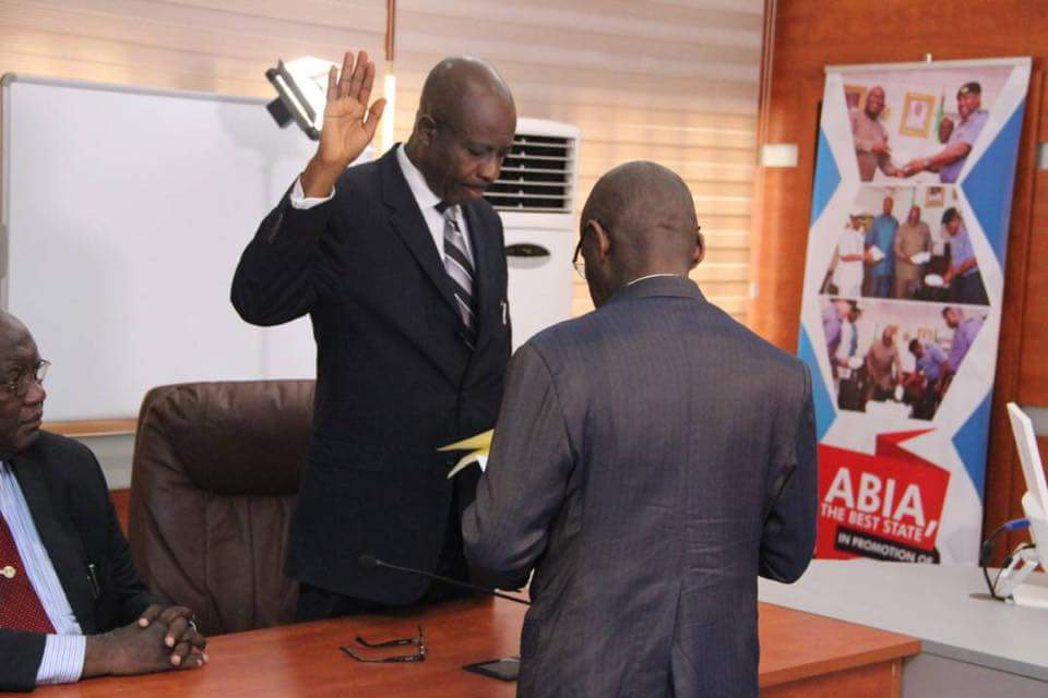 Acting Abia Chief Judge sworn-in