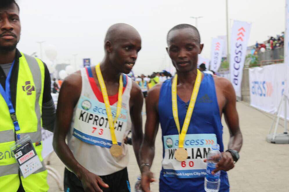 #RunLagos : Abraham Kiprotich wins Lagos City Marathon 2018