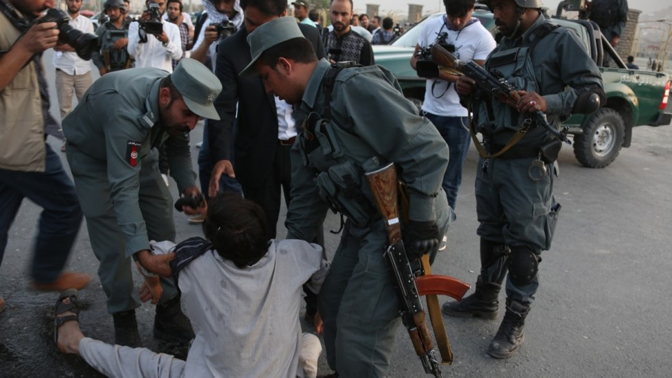 Three persons killed in Afghan suicide attack
