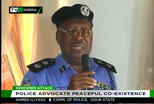 Police advocate peaceful co-existence in Ogun