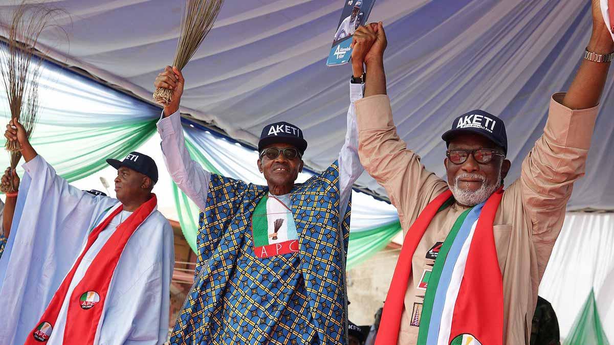 Akeredolu backs Buhari for second term