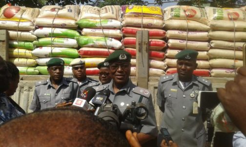 Customs donates seized items to IDPs in Adamawa