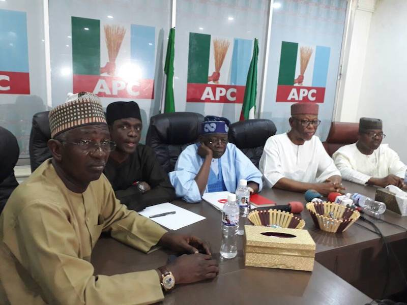 APC NWC pledges to support Tinubu's reconciliation Committee