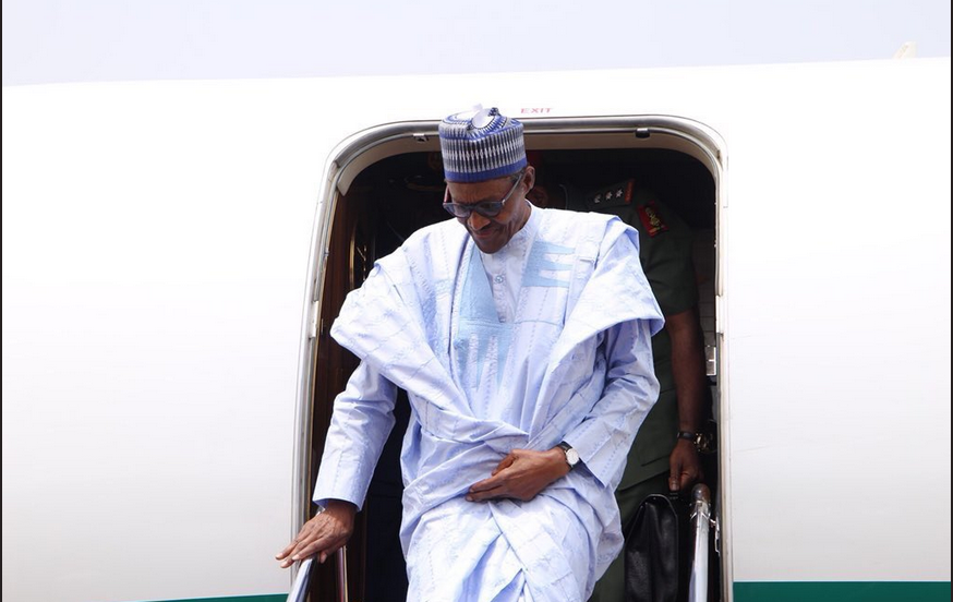 Buhari arrives Katsina, heads to Daura for a private visit