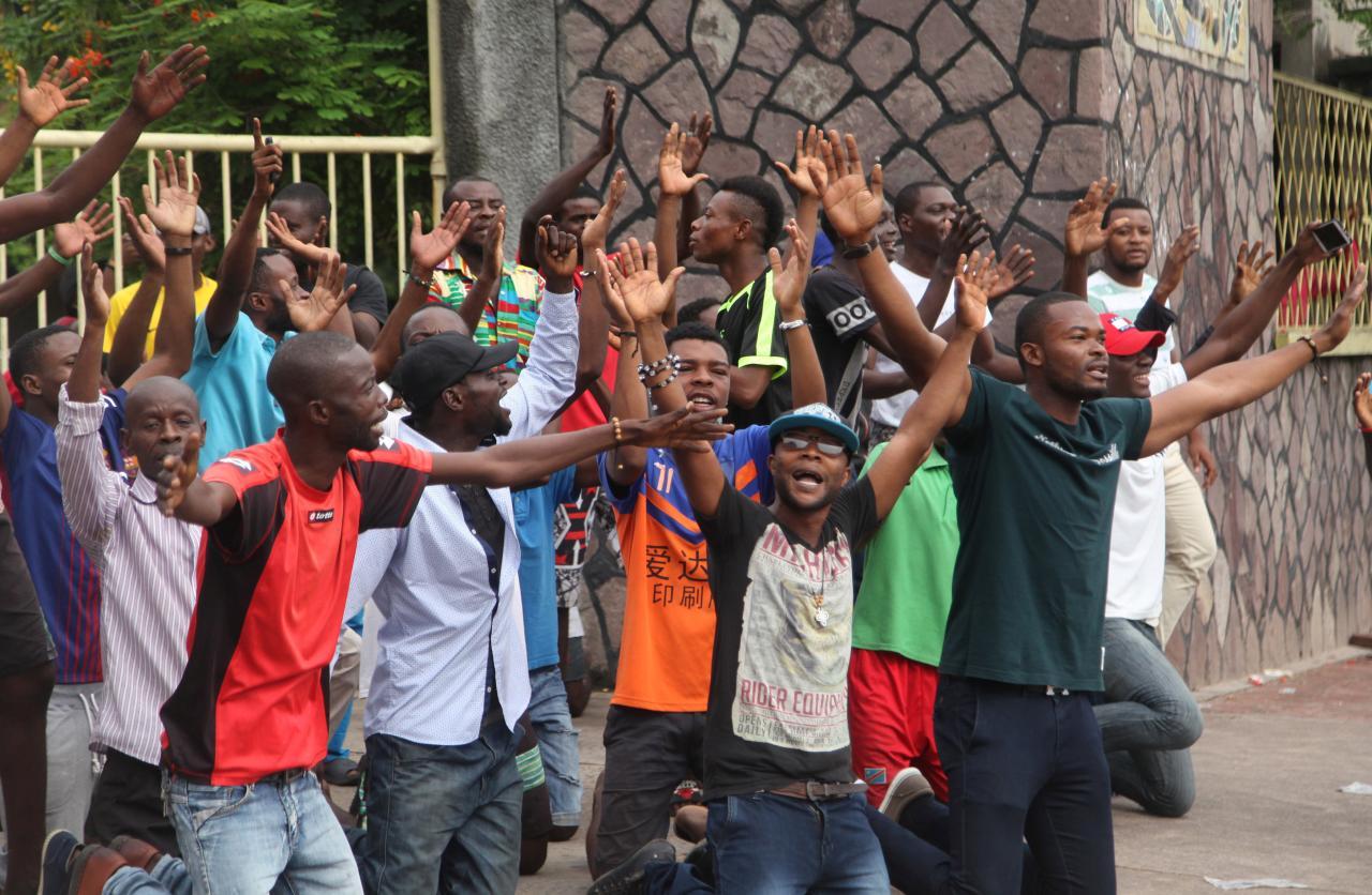 Congo police kill protester in church-led march against Kabila
