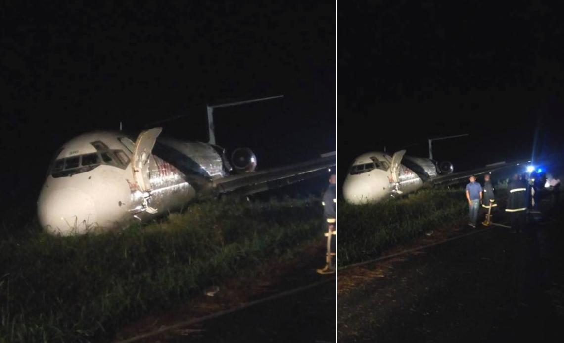 Scores escape death as Dana aircraft skids off runway in Port Harcourt