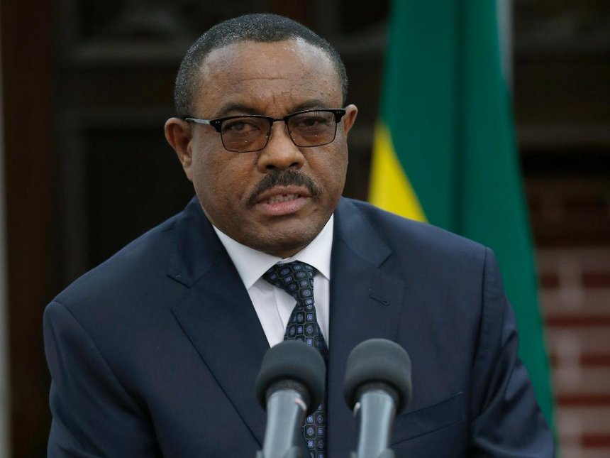 Ethiopian PM, Hailemariam Desalegn resigns