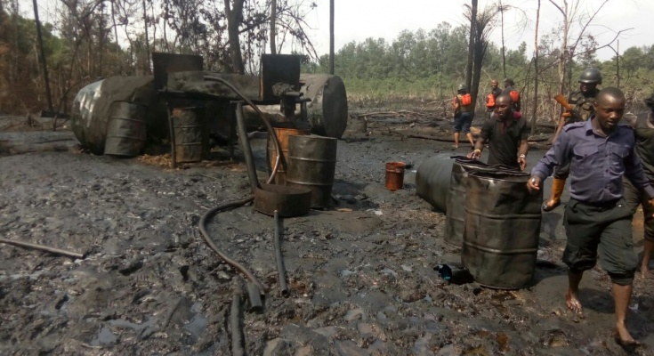 'Operation Delta Safe' destroys illegal refineries