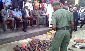 At least 200 militants surrender weapons in Imo