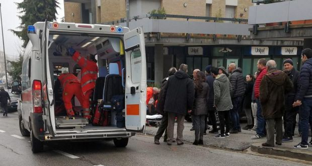 African migrants injured in Italy drive-by shooting