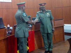 New Army spokesman, Brig. Gen. Chukwu assumes office