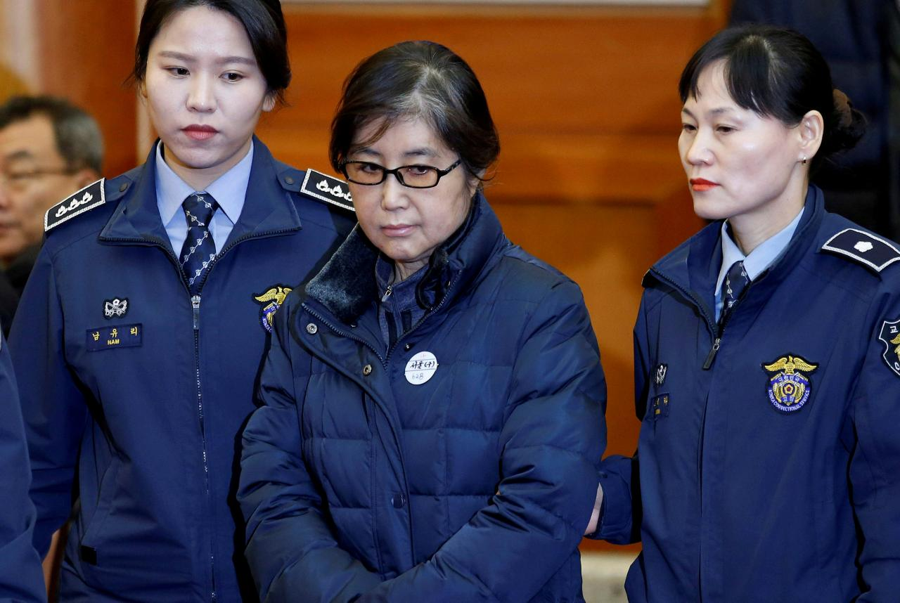 Former South Korean president's friend jailed for 20 years