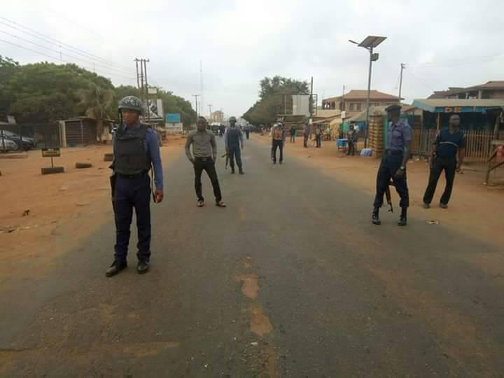 Three police officers, one naval rating injured in Kwara communal clash
