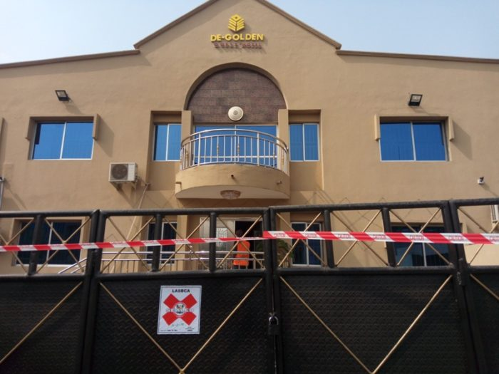 Illegal Construction: Lagos seals RCCG building, others