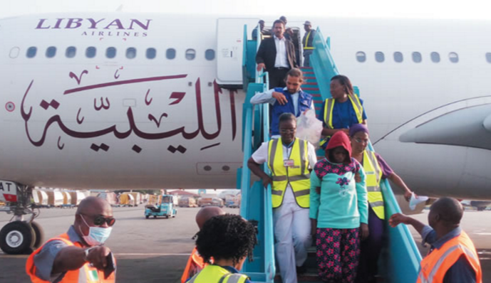 Libya deports 250 migrants to Niger