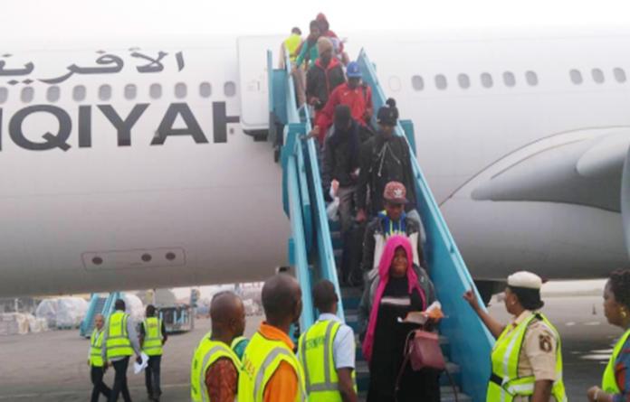 Libya: 465 Nigerians arrive in Port Harcourt